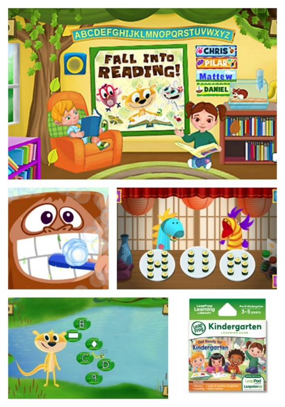 Get Ready For Kindergarten Game from LeapFrog