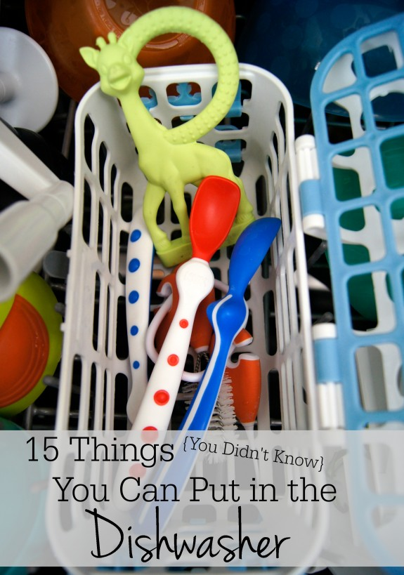 15 Things You Didn't Know You Could Put in the Dishwasher