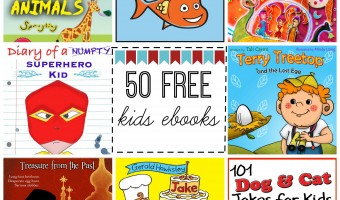 50 Free Kids eBooks to Jumpstart Your Child's Learning This School Year!