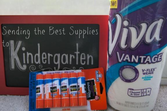 Send the Best Supplies to Kindergarten