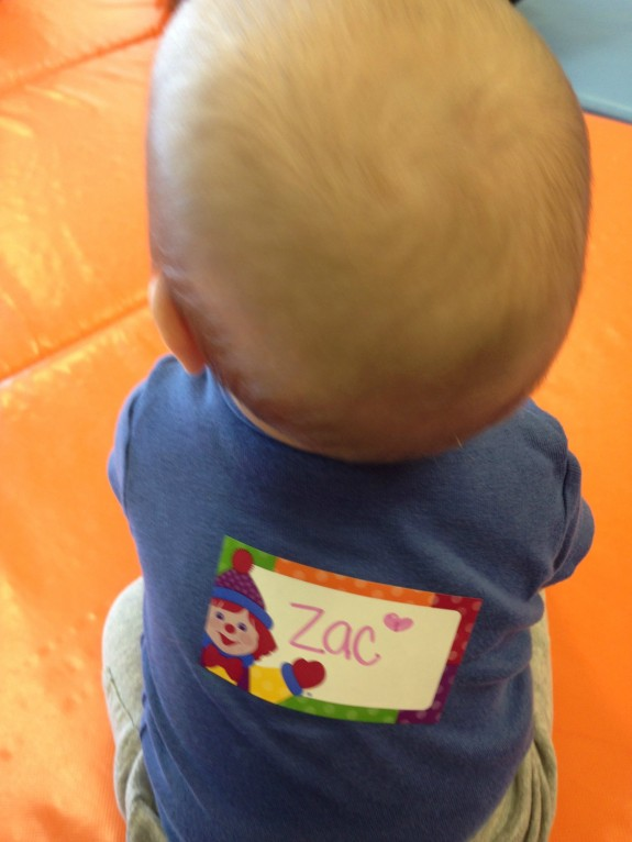 Zac at Gymboree