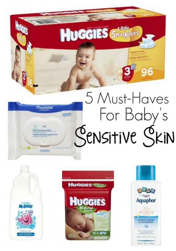 5 Tips Amp 5 Must Haves To Care For Baby S Sensitive Skin