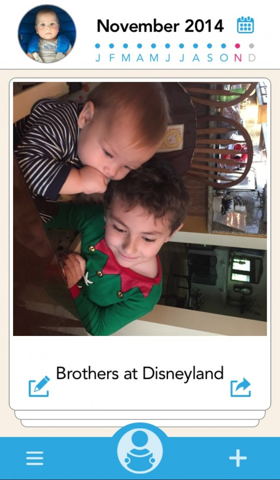 Brothers at the Disneyland Rental Home