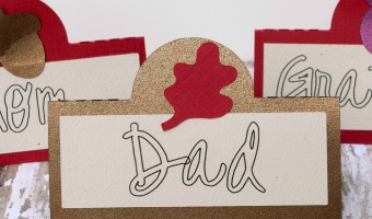 Silhouette Tutorial: Thanksgiving Placecards