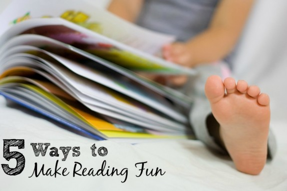 5 Ways to Make Reading Fun for Beginning Readers