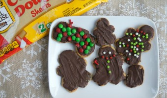 Easy Holiday Baking Idea: Chocolate Covered Sugar Cookies