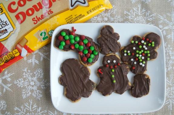 Chocolate Covered Sugar Cookies