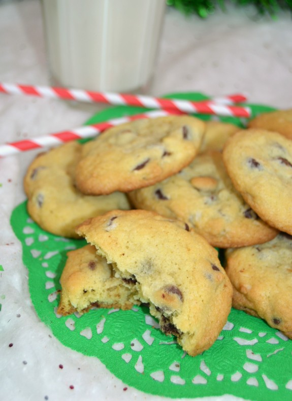 Coconut Almond Chocolate Chip Cookies