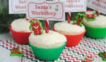 Easy Christmas Baking Recipe: Santa's Workshop Cupcakes