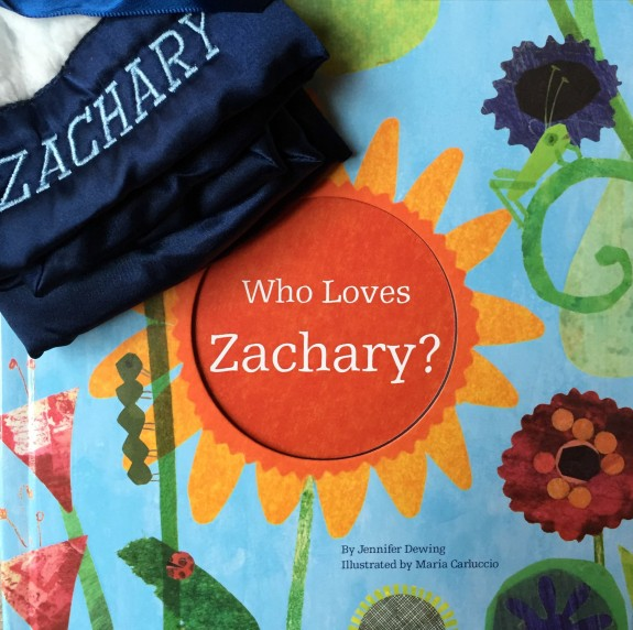 Who Loves Me Personalized Book and Blanket Gift Set from I See Me!