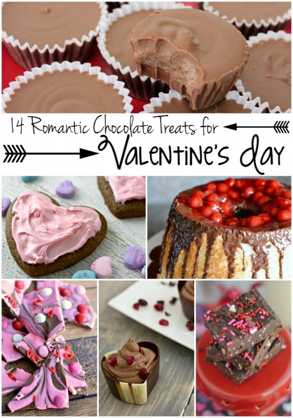 14 romantic chocolate recipes for valentine's day - {not quite, Ideas