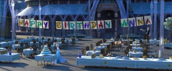 Happy Birthday Anna Frozen Fever