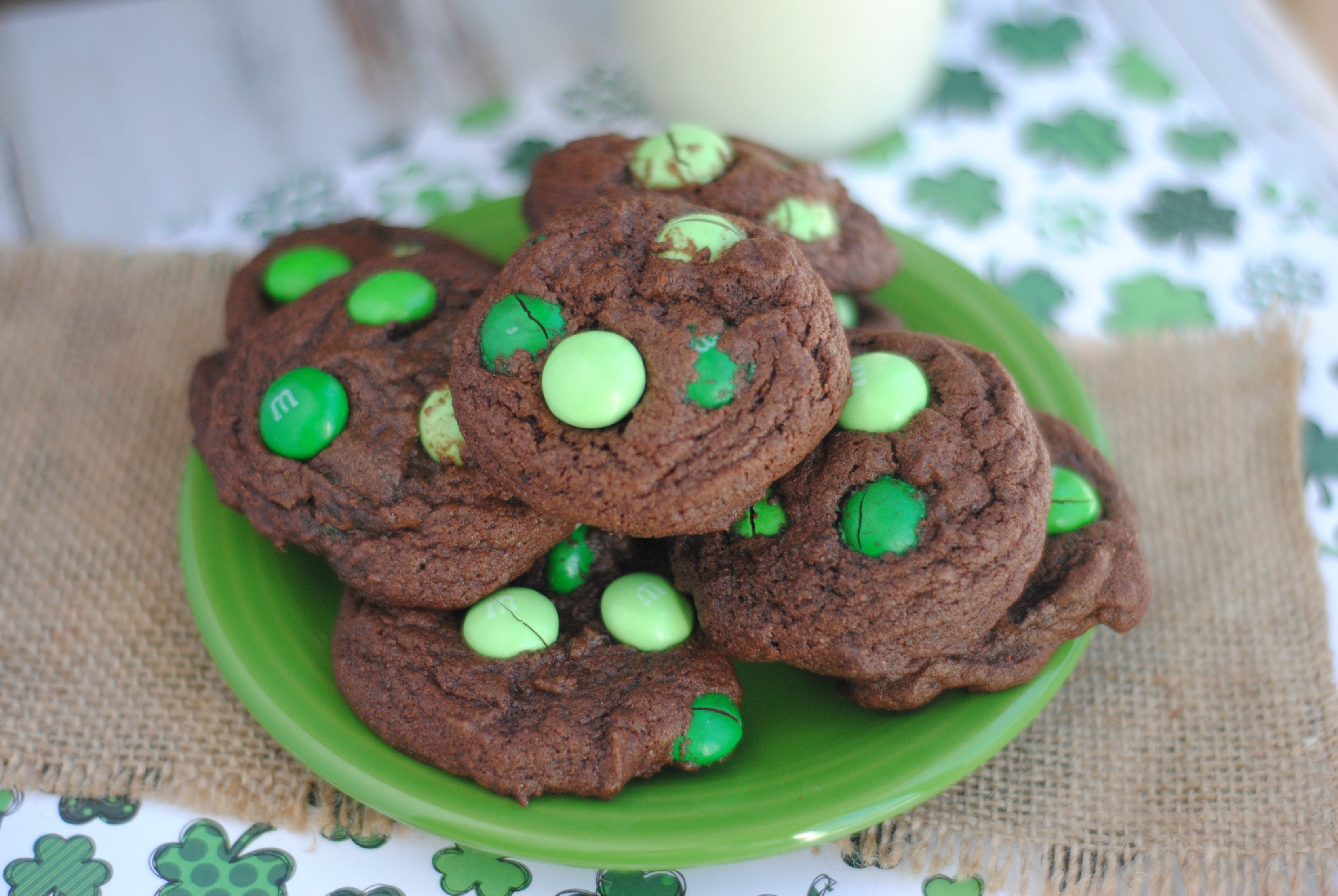 Mint Chocolate M M S Cookies Recipe Not Quite Susie Homemaker