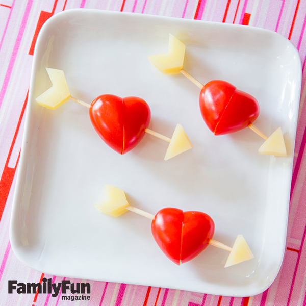 valentine's day snack ideas for kids from family fun magazine, Ideas