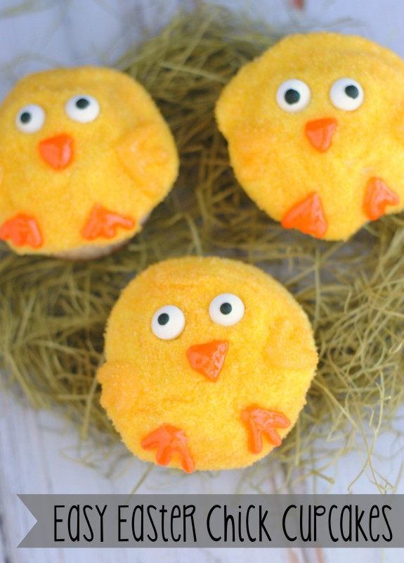 Easy Easter Chick Cupcakes Recipe