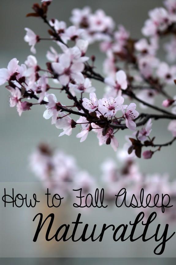 How to Fall Asleep Naturally