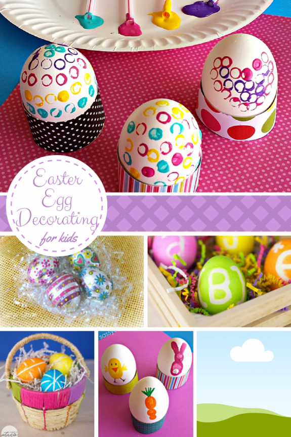 10 Easter Egg Decorating Ideas for Kids