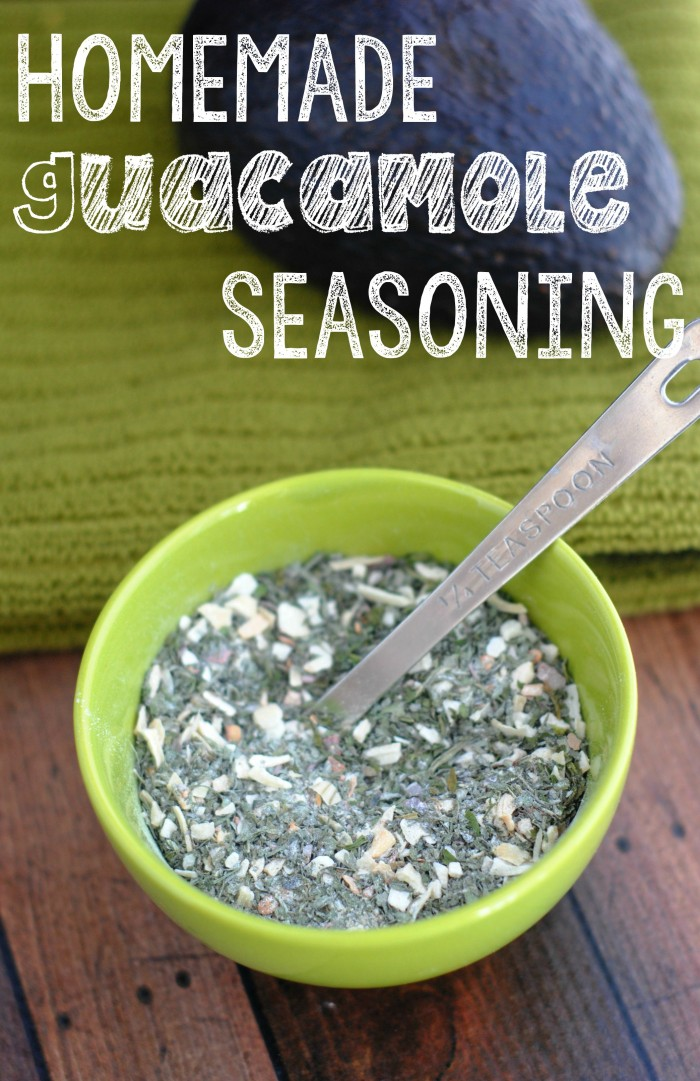 Love including guacamole in your meals- or even just as a healthy dip? You'll be ready for authentic homemade guacamole anytime with this easy Homemade Guacamole Seasoning recipe!