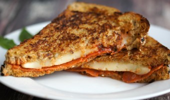 Easy Pizza Grilled Cheese Recipe