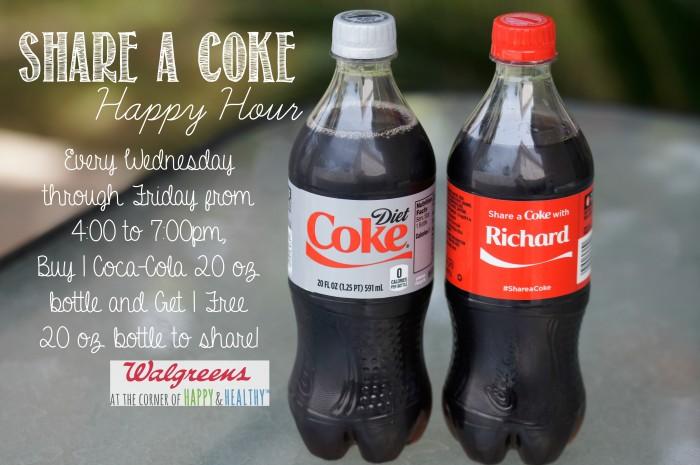 Share a Coke Happy Hour! #CokeHappyHour #CollectiveBias #ad