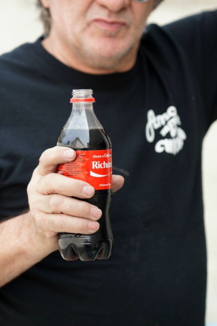 Sharing a Coke with my Dad!  #CokeHappyHour #CollectiveBias #ad