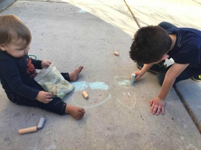 kids chalk