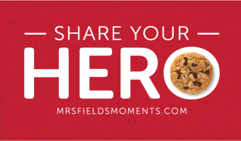 Share Your Hero for a Chance to Win Free Cookies!