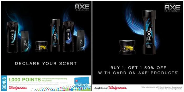 AXE Hair care specials
