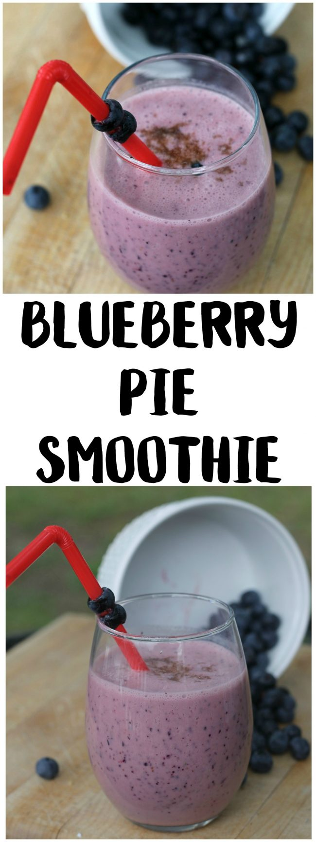 Smoothies have so many uses- they can be good for weight loss, a good way for kids to eat more fruits and vegetables, and can make an easy on the go breakfast. Check out this Blueberry Pie Smoothie Recipe for a treat!