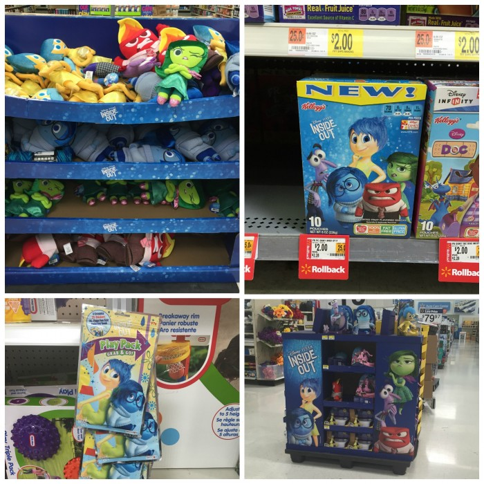 Inside Out at Walmart #InsideOutEmotions #cbias