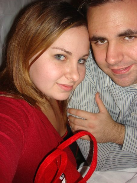 Justin and I in 2008