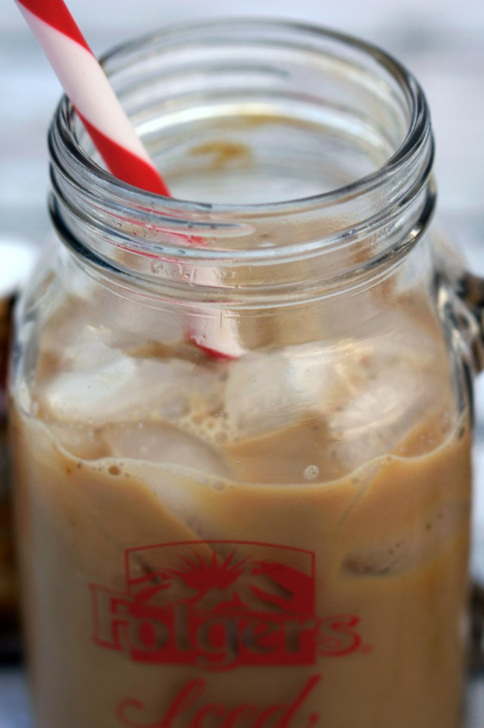 Folgers iced coffee