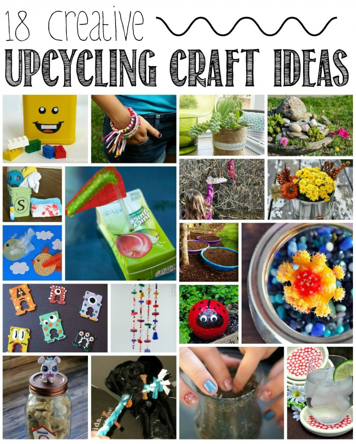 Love to DIY crafts but hate the cost of craft supplies? Check out these 18 creative DIY ideas that upcycle items around your home! I'm doing #11 this weekend!