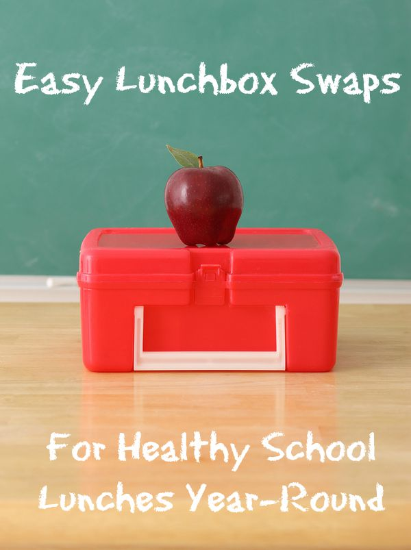 Easy Lunchbox Swaps For Healthy School Lunches Year-Round