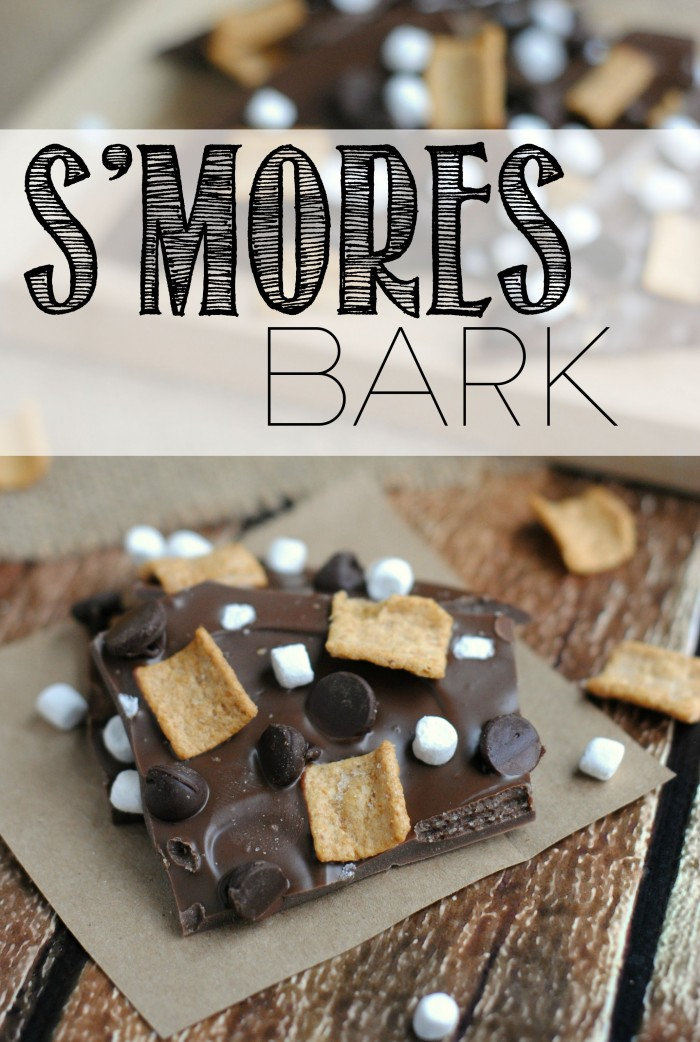 This s'mores bark recipe will help you get the most out of what's left of summer! It's a really easy dessert recipe that the kids can even help with!