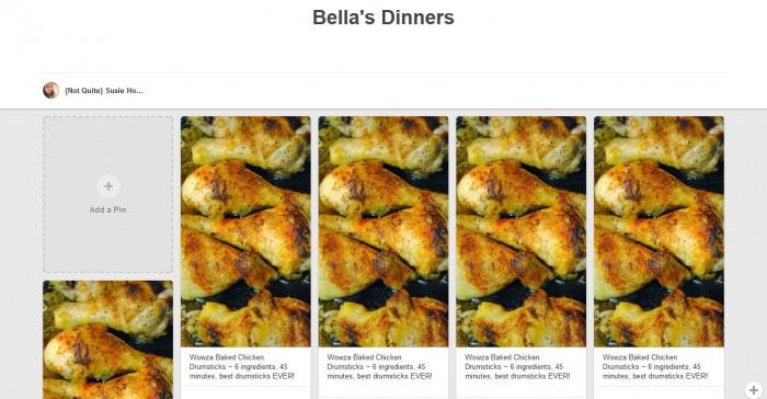 Bellas Dinners