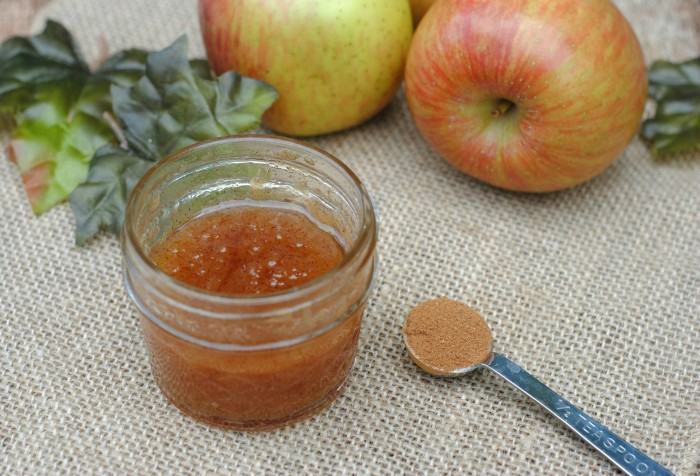 DIY Apple Body Scrub Recipe