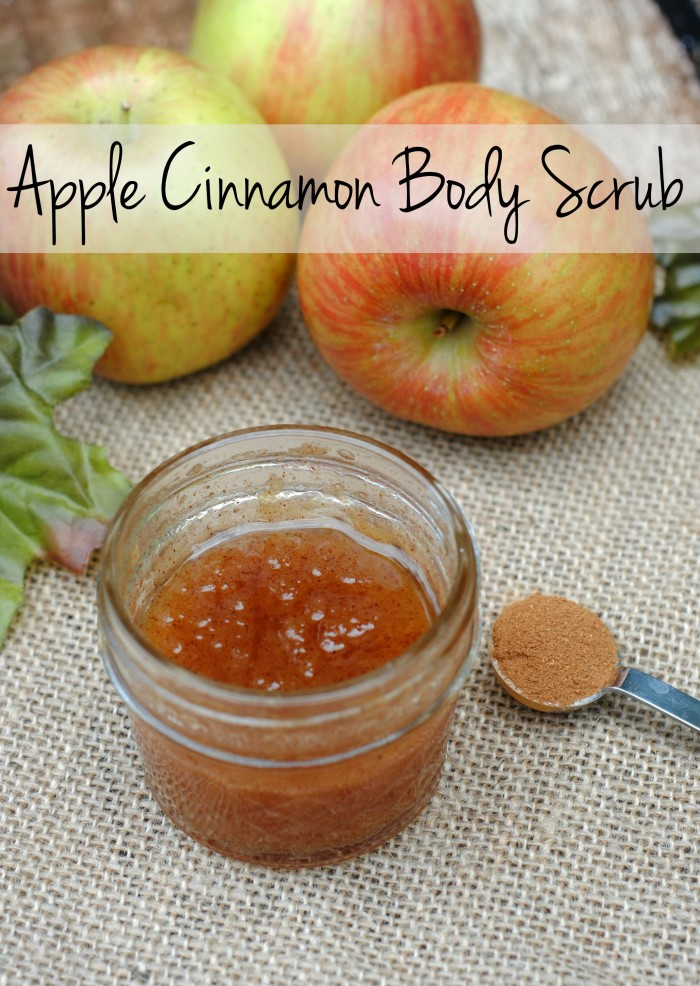 DIY Beauty Apple Cinnamon Body Scrub