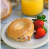 Mini Freezer Bagel Sandwiches