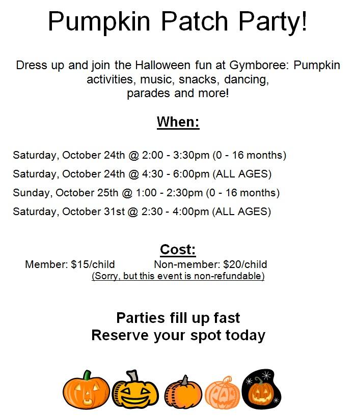 Gymboree Play Music Pumpkin Patch Parties