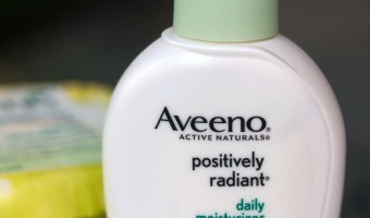 Glow on the Inside and Out with AVEENO Positively Radiant