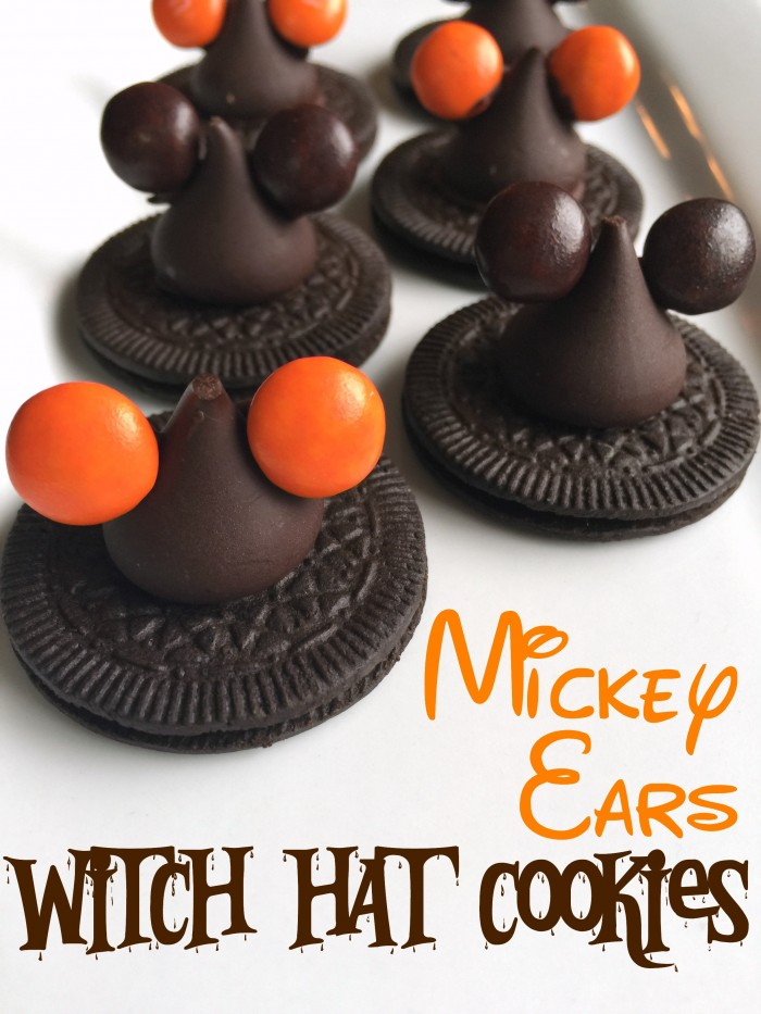 Mickey Ears Witch Hat Cookies