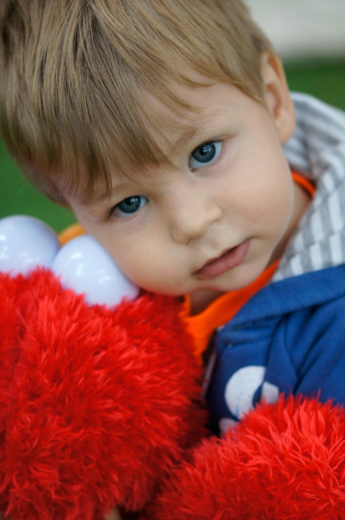 Zac and Elmo