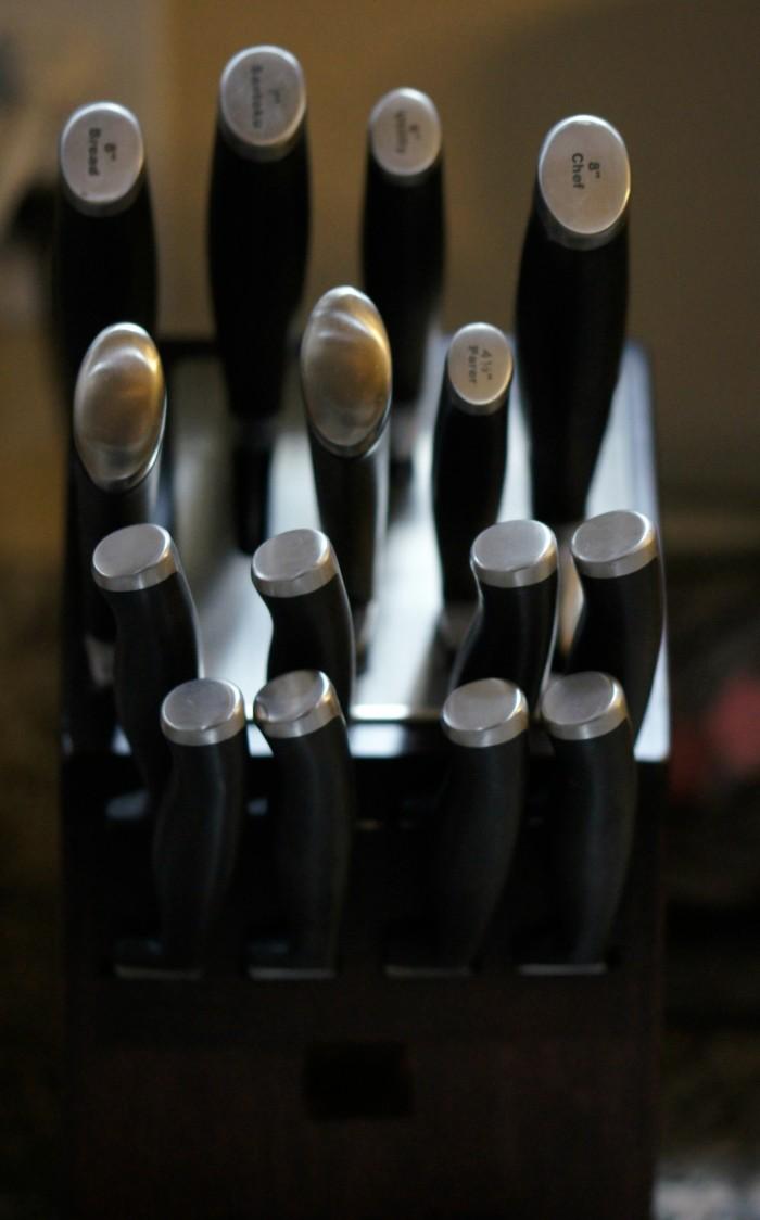 Calphalon Self-Sharpening Knives