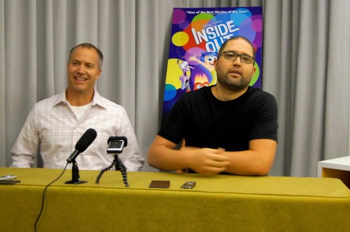 Director Josh Cooley & Producer Mark Nielsen