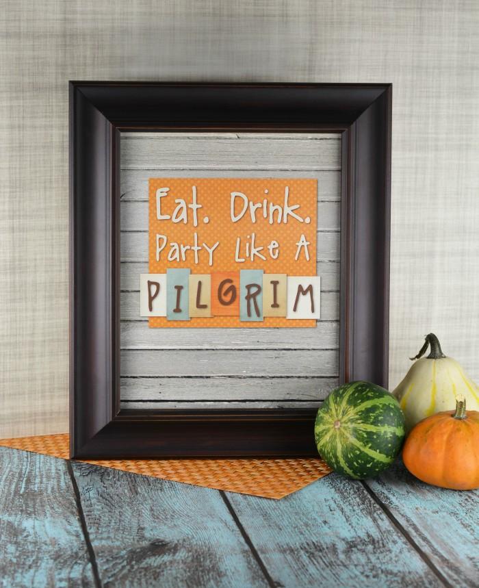 Free Thanksgiving Printable Decoration!