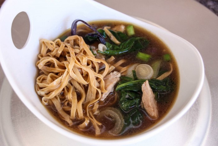 Wonton, Pork & Spinach Soup Featuring Smithfield Pork