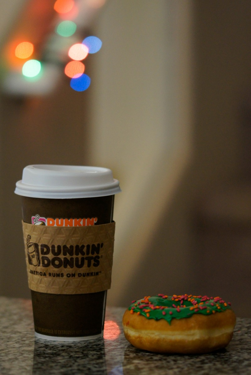 Dunkin Donuts Coffee and Donut