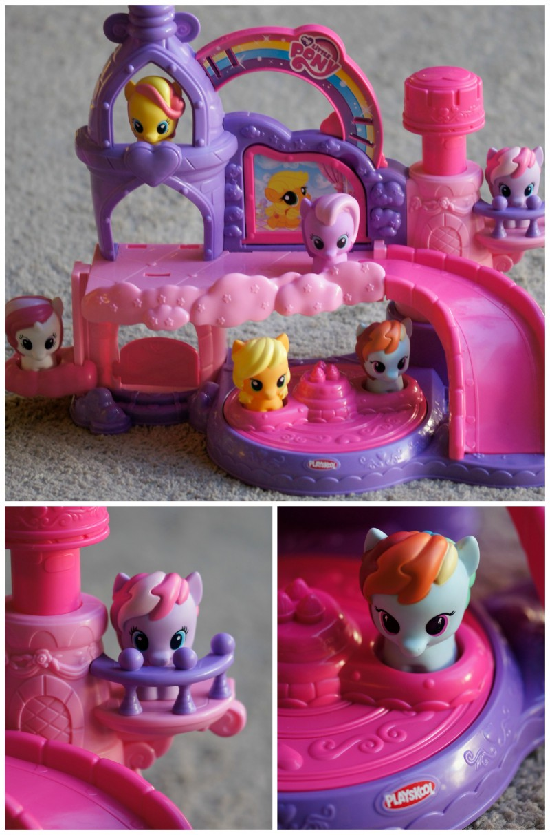 My Little Pony Castle Features