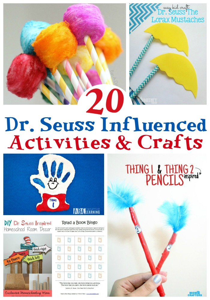 20 Dr Seuss Inspired Crafts and Activities